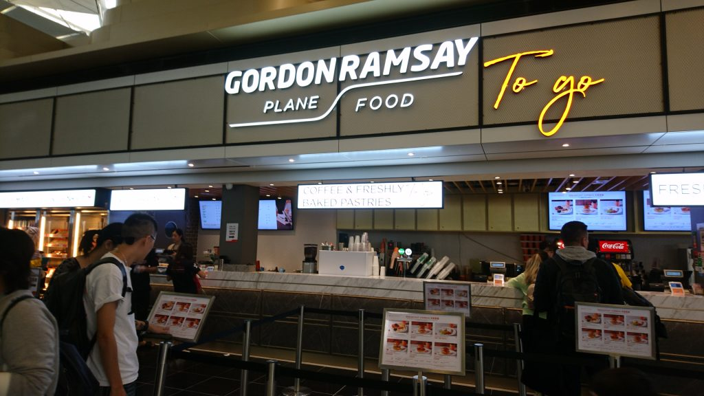 香港機場Gordon Ramsey To Go